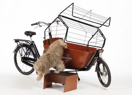 Hundtrappa till Bakfiets.nl lådcykel