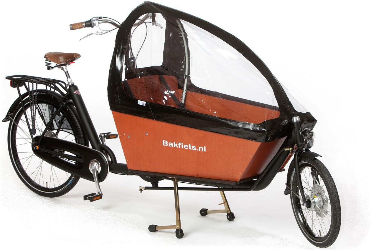Kapell Svart Cargobike Lång 800130