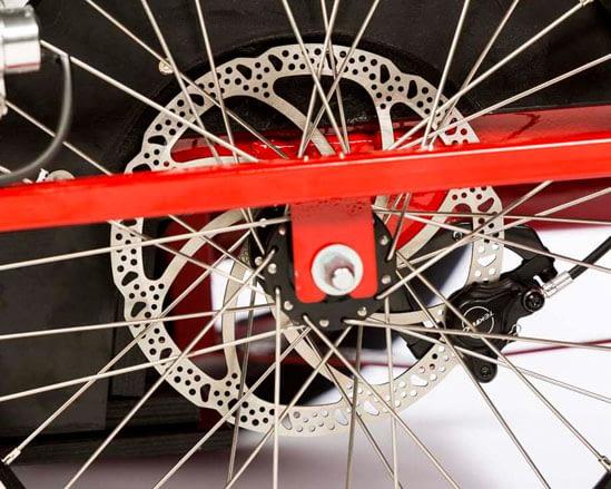 Skivbroms Trike 99DCTS525