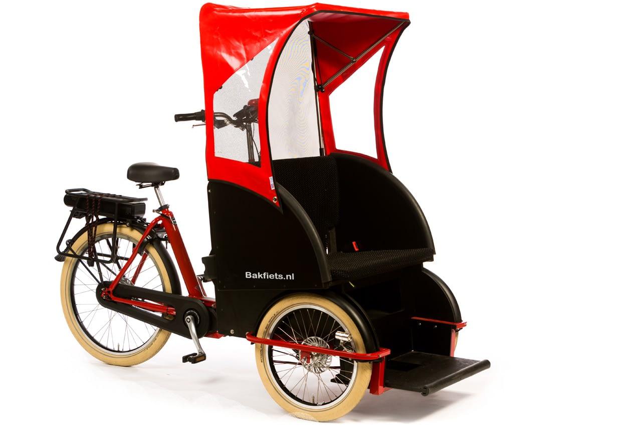 Kapell Rickshaw Röd 800068